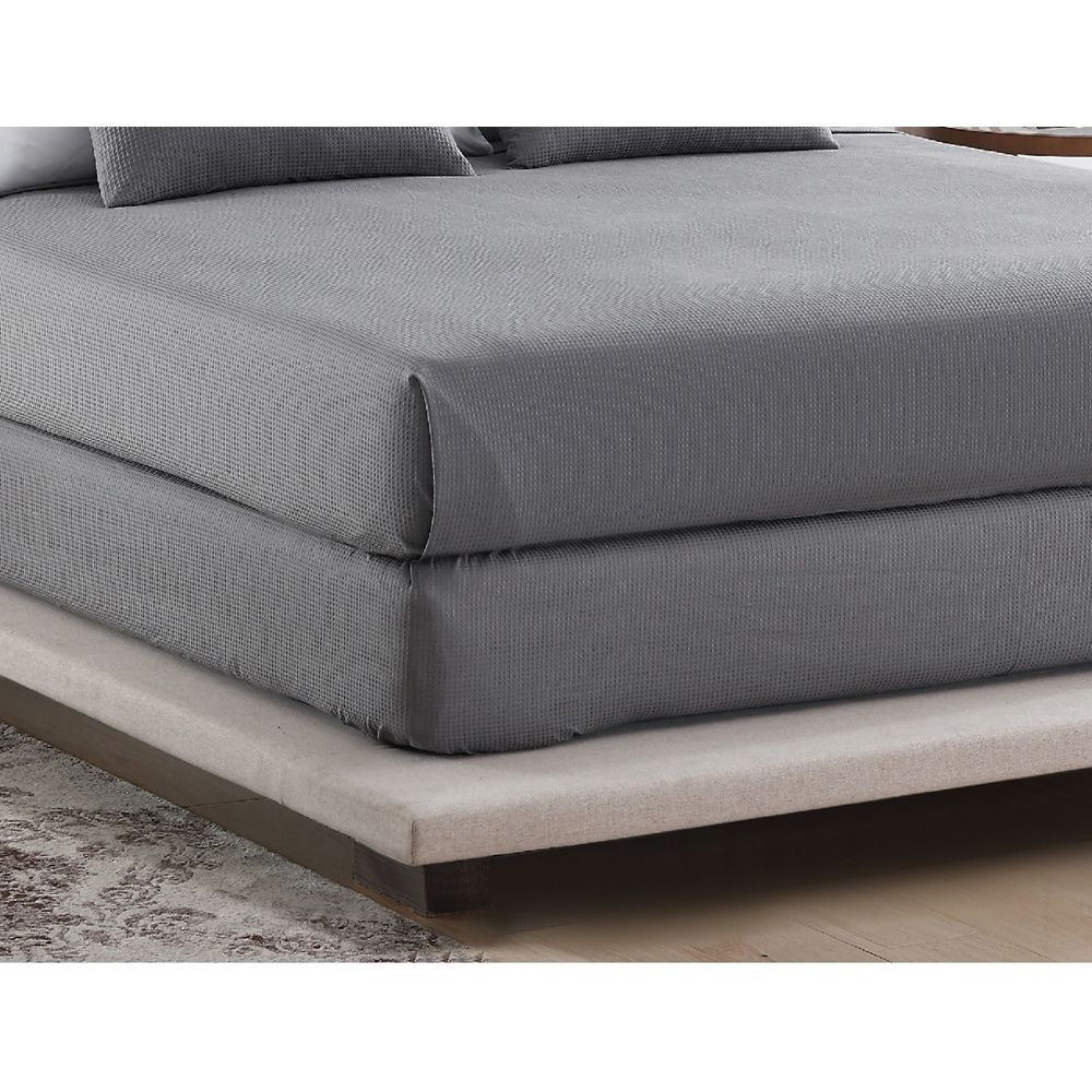 Adorn by 1888 Mills Bed Wrap, Twin 39x80x9, Grey